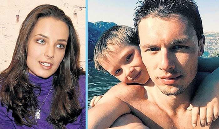 Сын Анны Поповой – Даниэль Лебедев фото