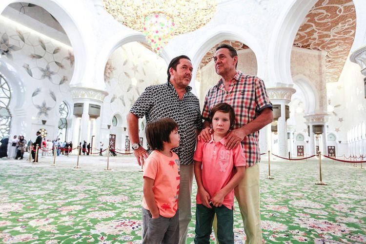 Сыновья Рената Ибрагимова – Султан и Атилла фото