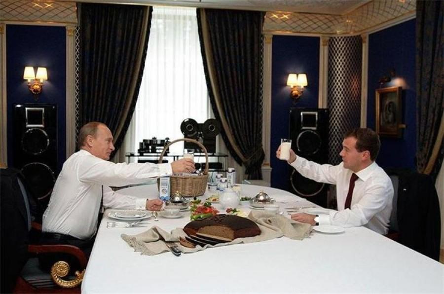 Где живет Путин в Москве