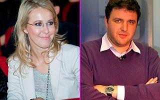 Ксения Собчак и Максим Виторган проводят медовый месяц во Франции