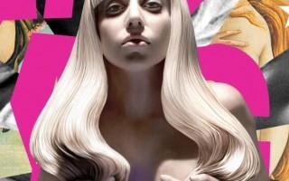 Леди Гага обнажилась для рекламы своего нового альбома Artpop
