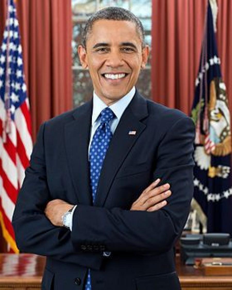 Президент США Барак Обама обсуждает с женой развод