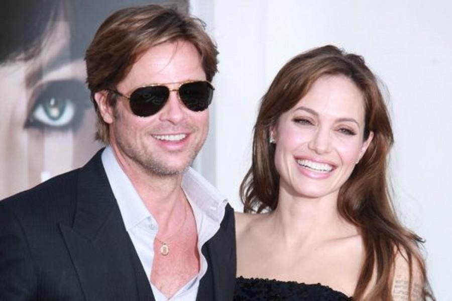 Звездные свадьбы 2012 года: Анджелина Джоли и Брэд Питт идут под венец