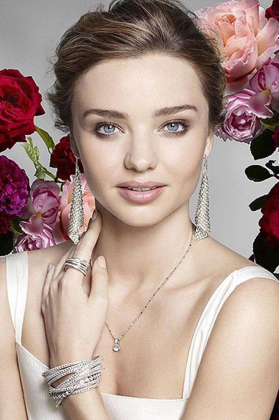Миранда Керр в новой рекламной кампании Swarovski