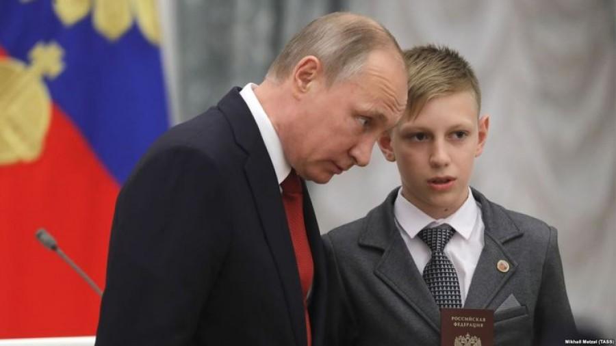 Как зовут внуков Путина