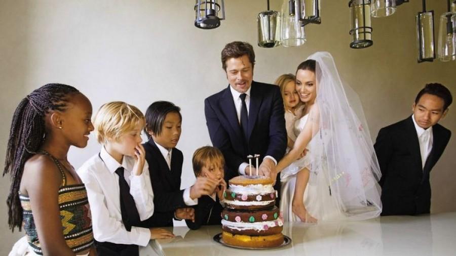 Сколько усыновленных и биологических детей у Анджелины Джоли и Брэда Питта