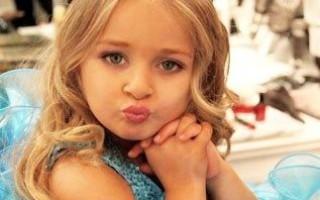 Шестилетняя победительница конкурса краcоты заработала для своей семьи миллионы долларов