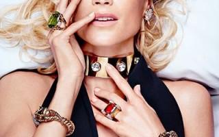 Кэролин Мерфи в рекламе ювелирной марки David Webb