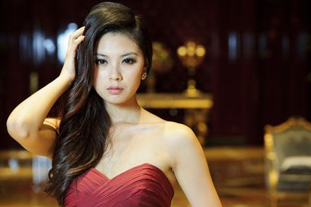 Miss World 2012 Yu Wenxia