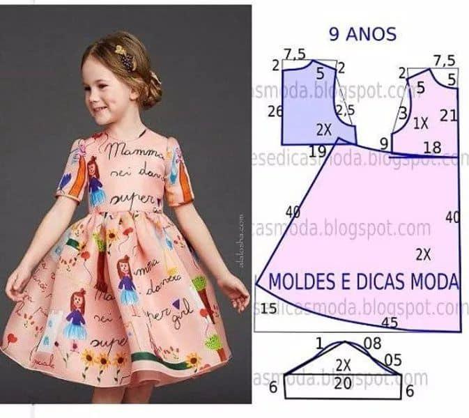 Как сшить детское платье своими руками для начинающих выкройки фото