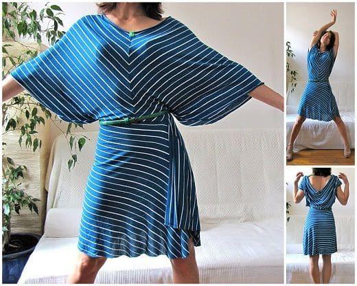 Сшить платье из трикотажа своими руками фото 139