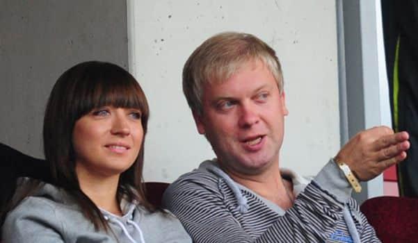 Жена Сергея Светлакова – Антонина Чебаторева фото