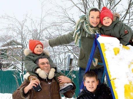 Дети Натальи Антоновой фото