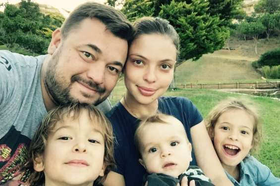 Дети Сергея Жукова фото