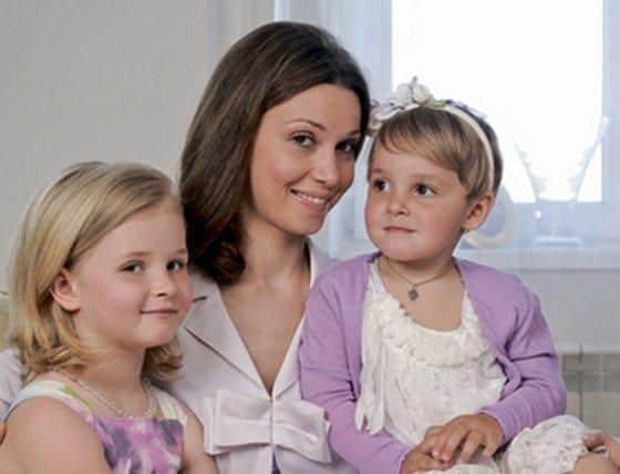 Дочь Александры Урсуляк – Анастасия Голубева фото