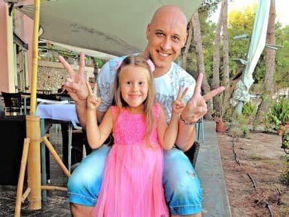 Дочь Дениса Майданова – Влада Майданова фото