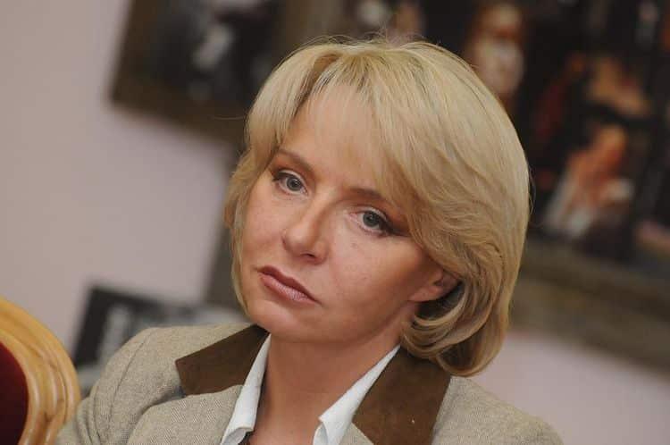 Дочь Михаила Ульянова – Елена Ульянова фото