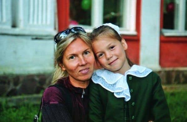 Дочь Сергея Наговицына – Евгения Наговицына фото