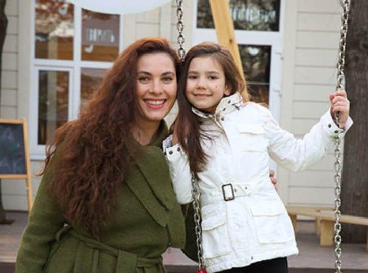 Дочь Янины Соколовской – Евгения фото
