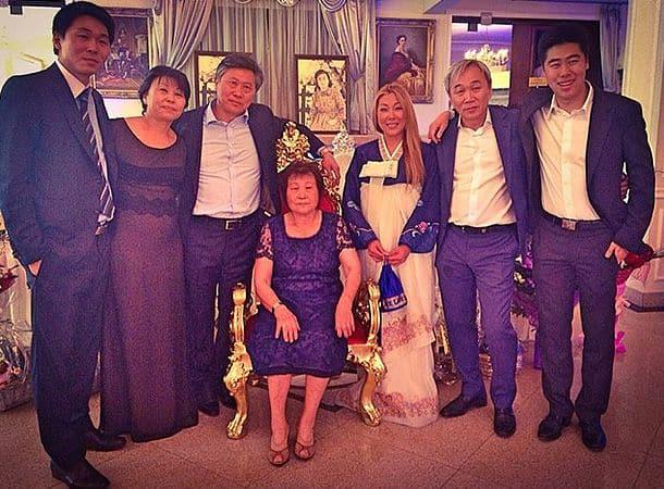 Семья Аниты Цой фото
