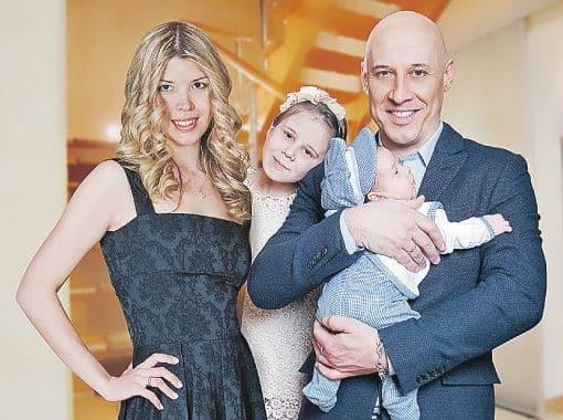 Семья Дениса Майданова фото