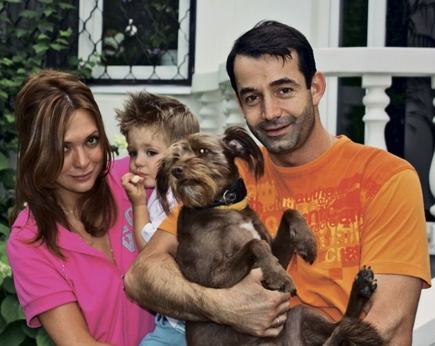 Семья Дмитрия Певцова фото