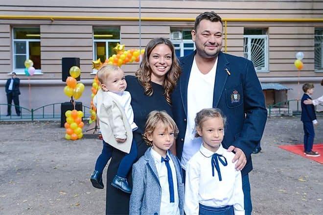 Семья Сергея Жукова фото