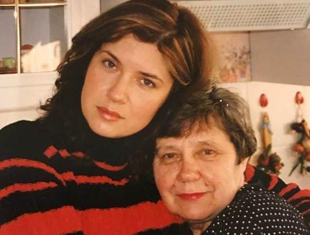 Семья Веры Сотниковой (актриса) фото