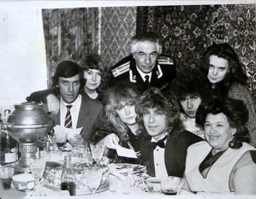 Семья Владимира Кузьмина фото