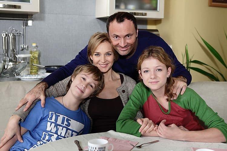 Семья и Дети Дмитрия Ульянова фото