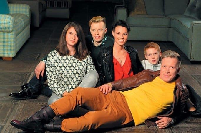Семья и дети Алексея Кравченко фото