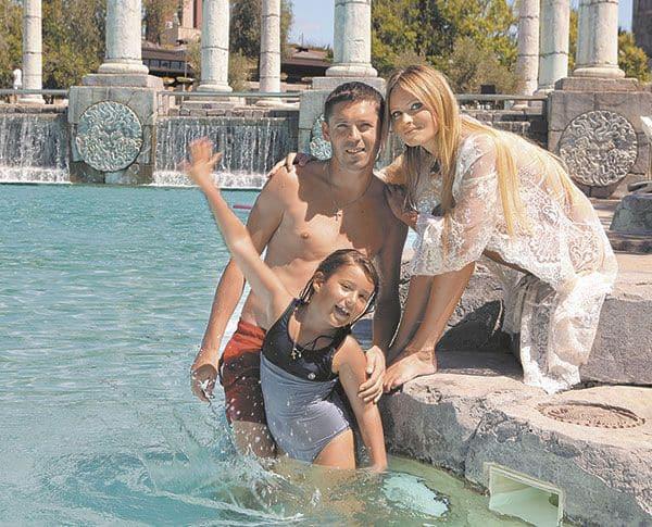 Семья и дети Даны Борисовой фото