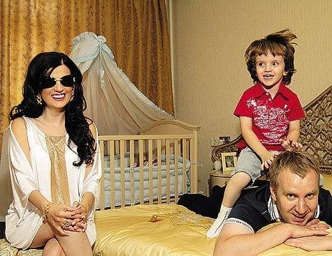 Семья и дети Дианы Гурцкой фото