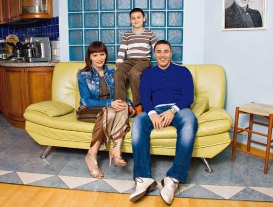 Семья и дети Кирилла Андреева фото