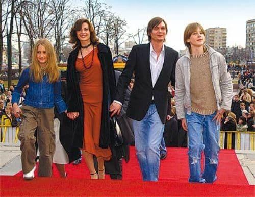 Семья и дети Оксаны Фандеры фото