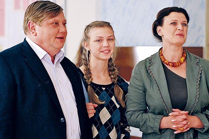 Семья и дети Таисии Вилковой фото