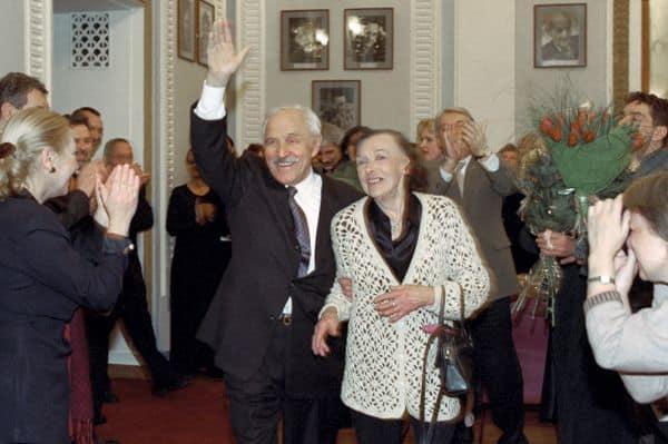 Жена Михаила Ульянова – Алла Парфаньяк фото