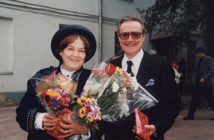 Жена Юрия Соломина – Ольга Соломина фото