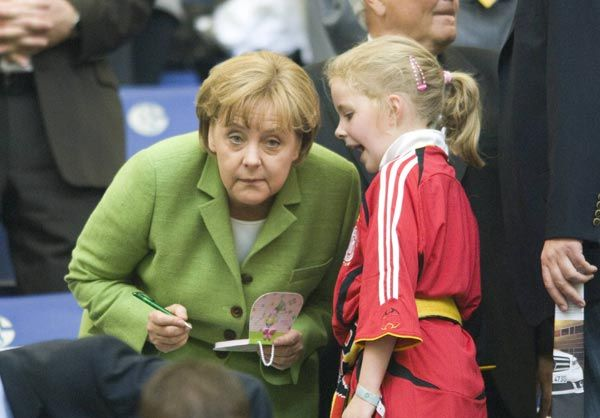 Дети Ангелы Меркель фото