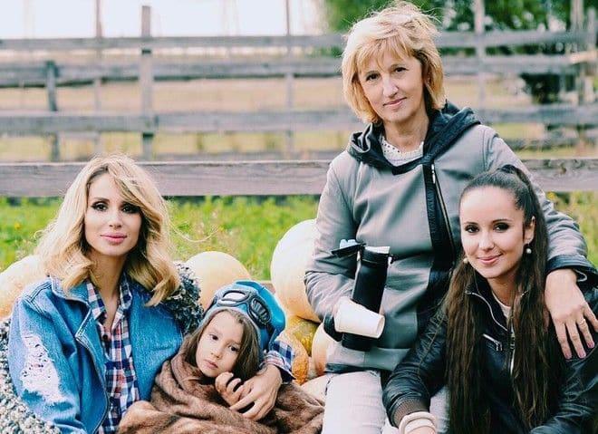 Дети Светланы Лободы (певица) фото