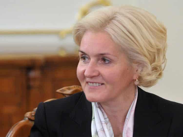 Дочь Ольги Голодец – Татьяна Мрдуляш фото