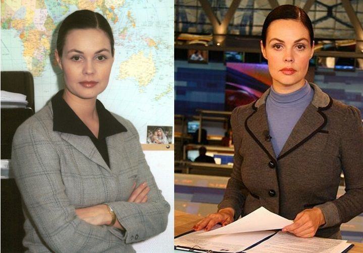 Фото Екатерины Андреевой до и после пластики