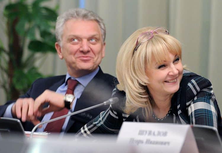 Муж Татьяны Голиковой – Виктор Христенко фото