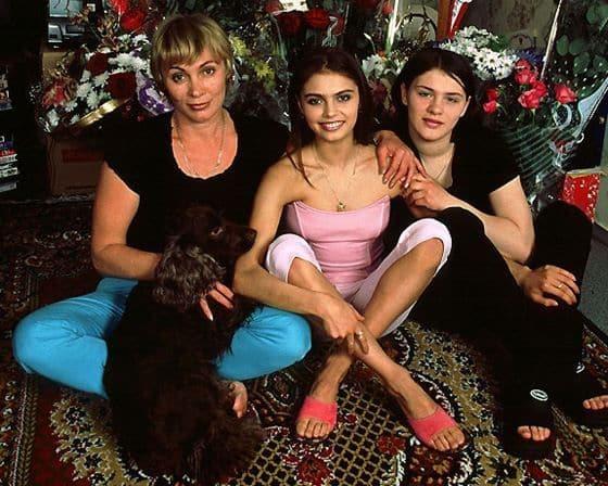 Семья Алины Кабаевой фото