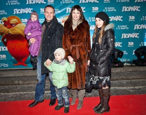 Семья Анатолия Белого фото