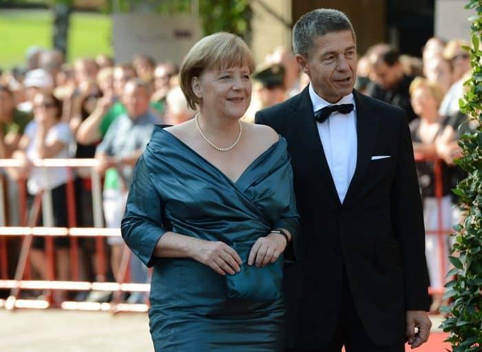 Семья Ангелы Меркель фото