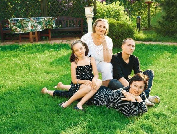 Семья Ларисы Гузеевой фото