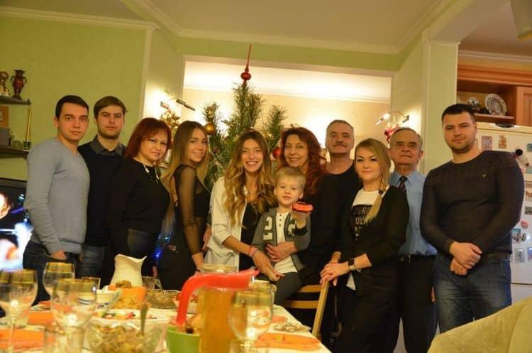 Семья Регины Тодоренко фото