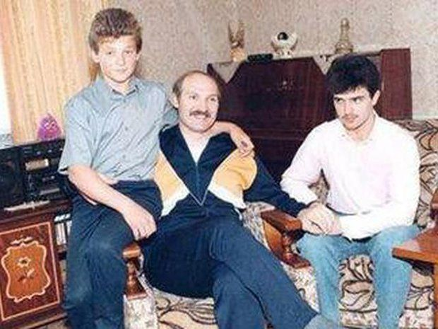 Семья и дети Александра Лукашенко фото