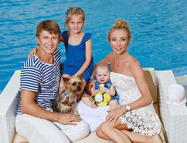 Семья и дети Алексея Ягудина фото
